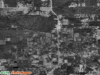 North Brooksville satellite photo by USGS