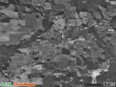 Frisco City satellite photo by USGS