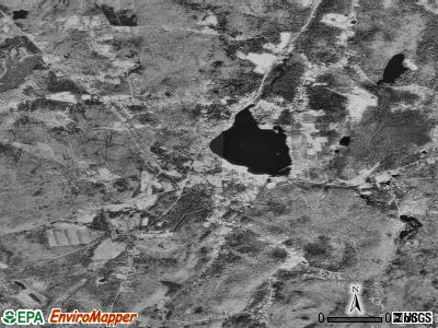 Crystal Lake satellite photo by USGS