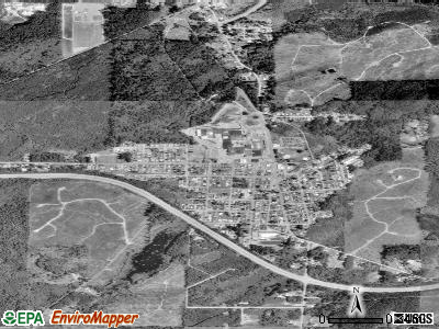 McCleary satellite photo by USGS