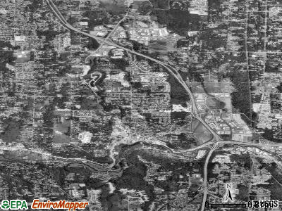 Bothell satellite photo by USGS