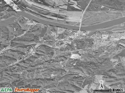 Dover satellite photo by USGS