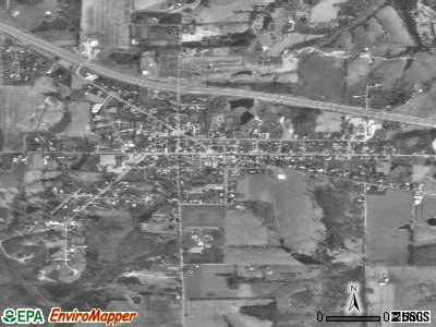 Dillsboro satellite photo by USGS