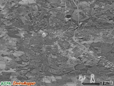 Hopkinsville satellite photo by USGS