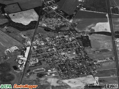 Bridgeville satellite photo by USGS