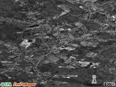Rowley satellite photo by USGS