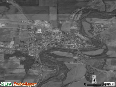Monroeville satellite photo by USGS
