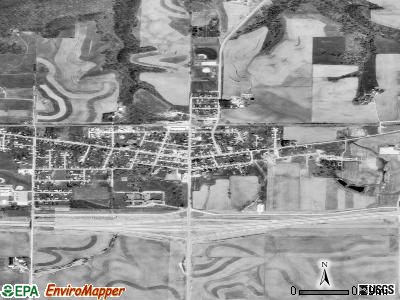 Epworth satellite photo by USGS