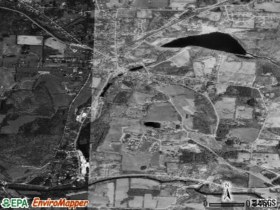 North Bennington satellite photo by USGS