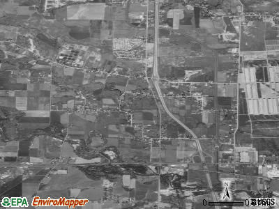 Marriott-Slaterville satellite photo by USGS