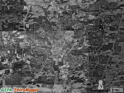 Nacogdoches satellite photo by USGS