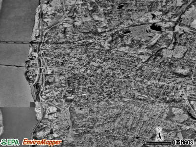 Poughkeepsie satellite photo by USGS