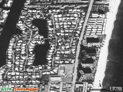 Rock Port satellite photo by USGS