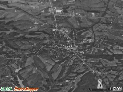 Owenton satellite photo by USGS