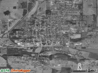 Pierce City satellite photo by USGS
