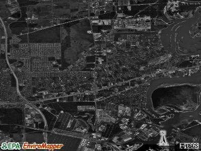 Channelview satellite photo by USGS