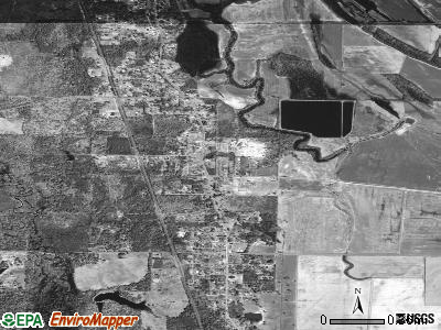 Wrightsville satellite photo by USGS