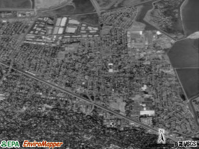 East Palo Alto satellite photo by USGS