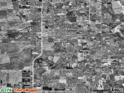 South Jordan satellite photo by USGS