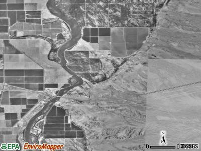 Ehrenberg satellite photo by USGS