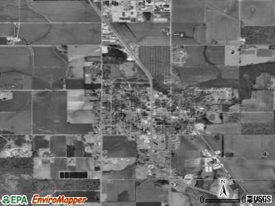 Loxley satellite photo by USGS