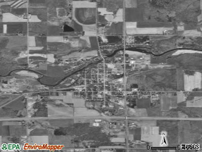 Cadott satellite photo by USGS