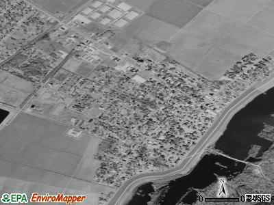 St. Joseph satellite photo by USGS