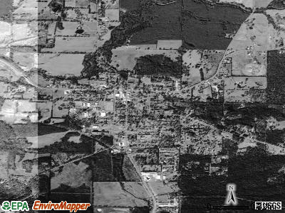 Manawa satellite photo by USGS