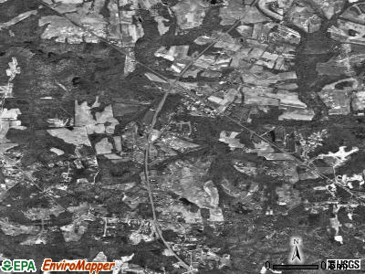 Owings satellite photo by USGS