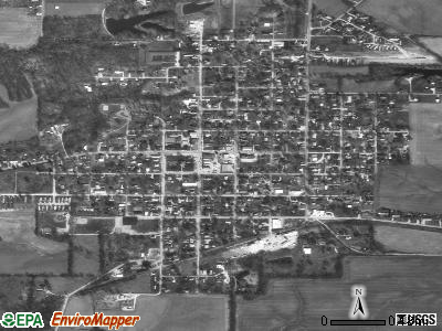 Owensville satellite photo by USGS
