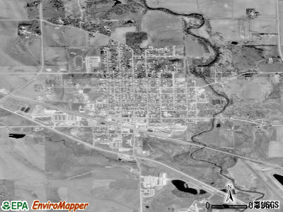 Coon Rapids satellite photo by USGS
