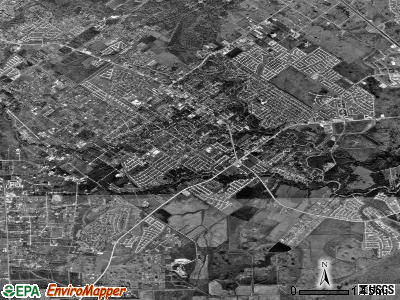 Friendswood satellite photo by USGS