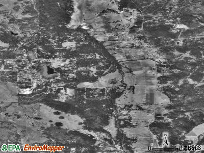 Laytonville satellite photo by USGS