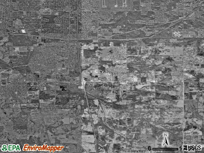 Southaven satellite photo by USGS
