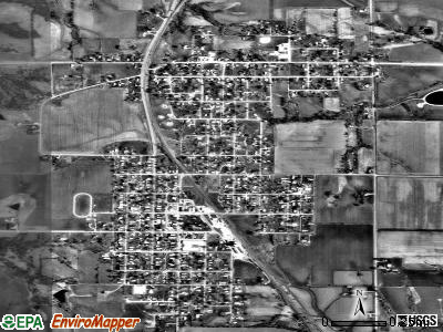 Melcher-Dallas satellite photo by USGS