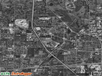 Gurnee satellite photo by USGS