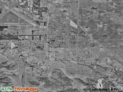 Orcutt satellite photo by USGS