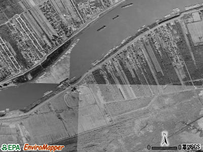 Powells Crossroads satellite photo by USGS