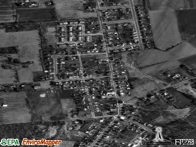 Simpsonville satellite photo by USGS