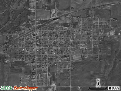 Fairland satellite photo by USGS