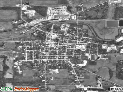 Camp Hill satellite photo by USGS