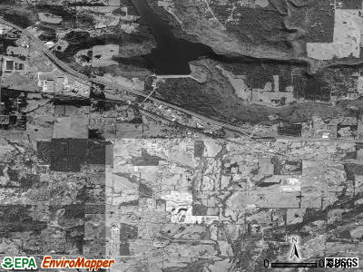 Pottsville satellite photo by USGS