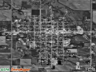 Creighton satellite photo by USGS