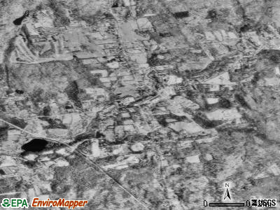 Moodus satellite photo by USGS
