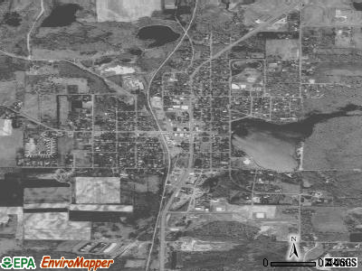 Waukomis satellite photo by USGS