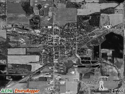 Stockbridge satellite photo by USGS