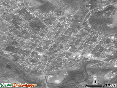 Osceola Mills satellite photo by USGS