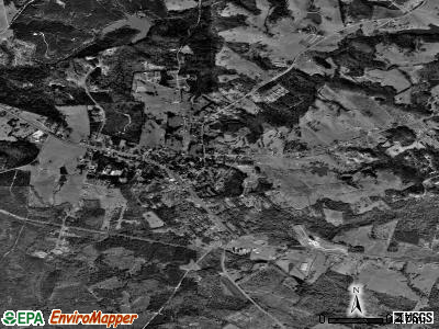 Maysville satellite photo by USGS