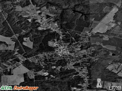 Kilmarnock satellite photo by USGS