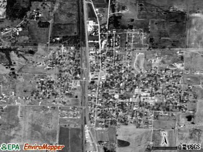 Collinsville satellite photo by USGS